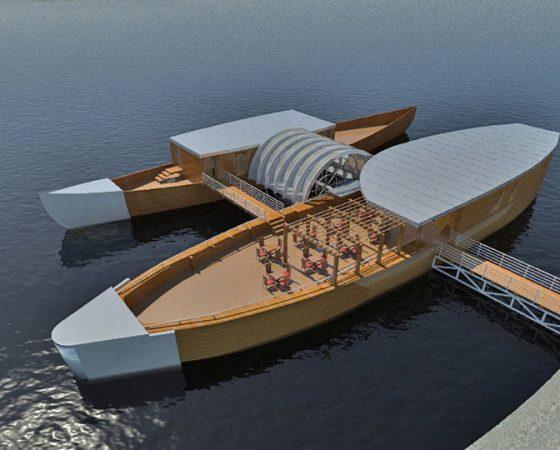 Hajómalom és kis hajóerőművek – Magyarország